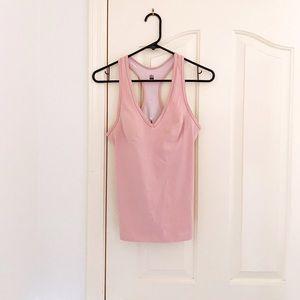 Victoria's Secret X Sport Pink Tank W/ Bra